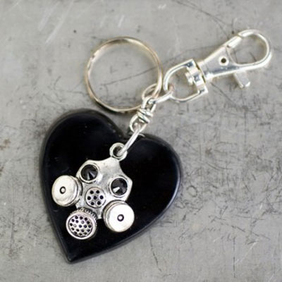 Heart-Gas-Mask-Key-Chain